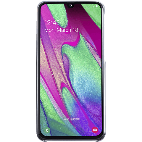 Samsung Gradation Cover Galaxy A40 - Schwarz 99929282 hinten