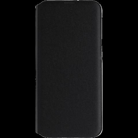 Samsung Wallet Cover Galaxy A20e - Schwarz 99929357 vorne