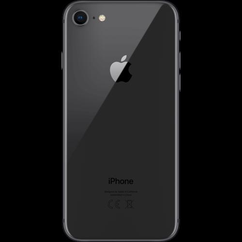 Apple iPhone 8 Space Grau Hinten