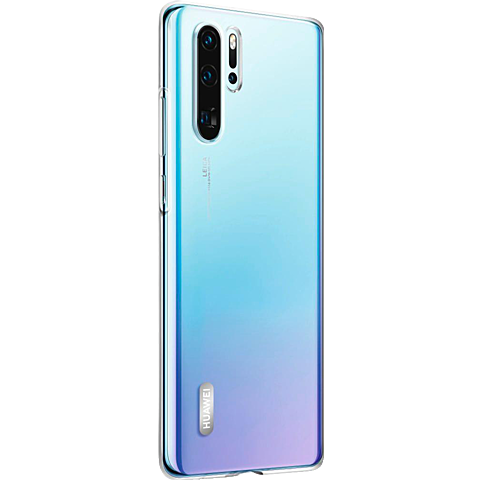 HUAWEI Clear Case P30 Pro - Transparent 99929323 seitlich