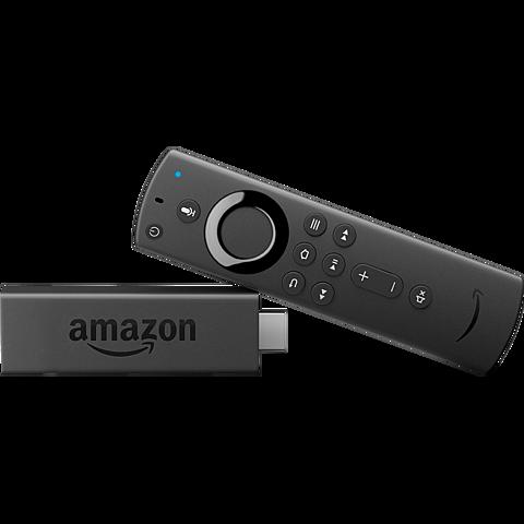 Amazon Fire TV Stick mit Alexa Fernbedienung - Schwarz 99929338 seitlich
