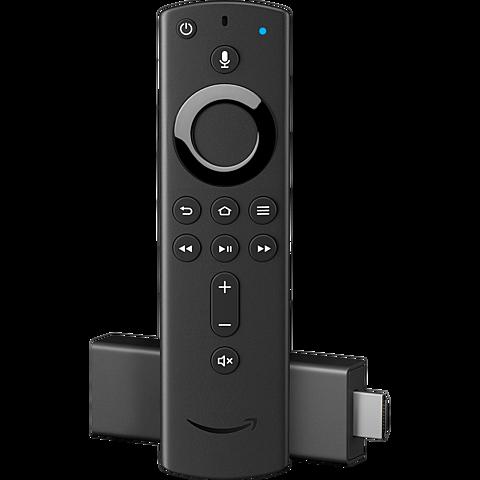 Amazon Fire TV Stick mit Alexa Fernbedienung - Schwarz 99929338 vorne