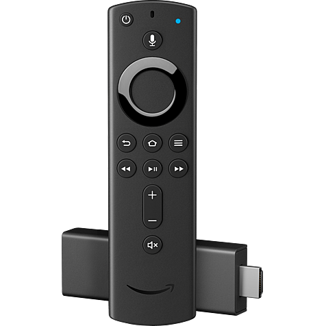 Amazon Fire TV Stick mit Alexa Fernbedienung - Schwarz 99929338 hero