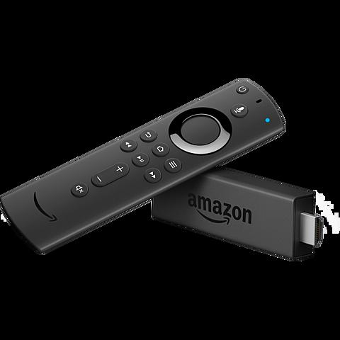 Amazon Fire TV Stick mit Alexa Fernbedienung - Schwarz 99929338 hinten