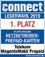 Connect: 1. Platz