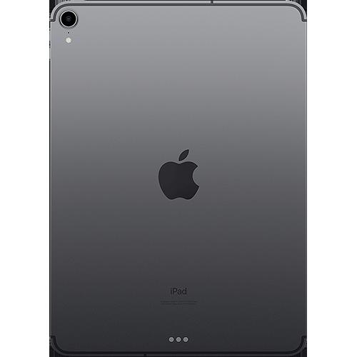 Apple 11'' iPad Pro WiFi und Cellular Spacegrau Hinten