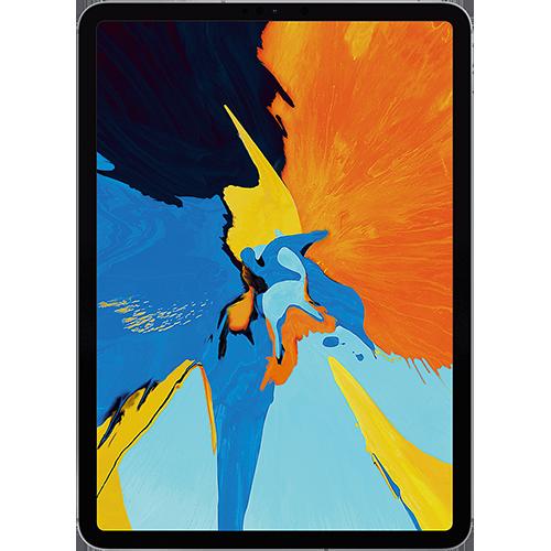 Apple 11'' iPad Pro WiFi und Cellular Spacegrau Vorne