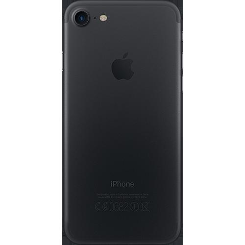 Apple iPhone 7 Schwarz Hinten