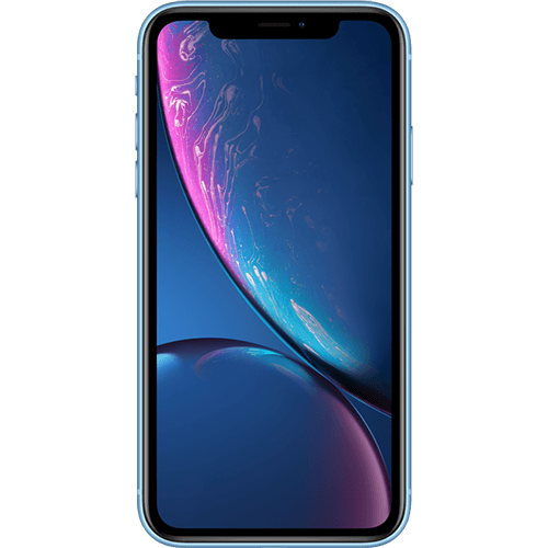 Apple iPhone XR Blau Vorne