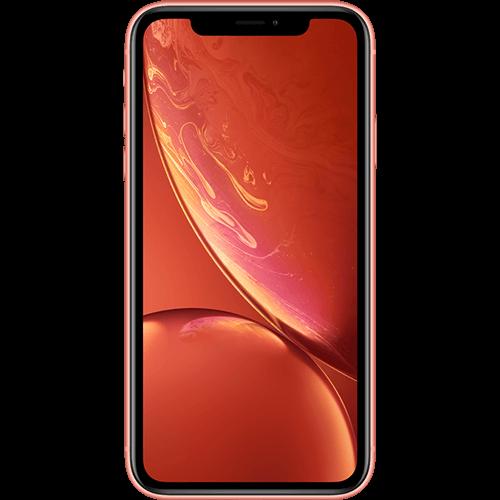 Apple iPhone XR Koralle Vorne
