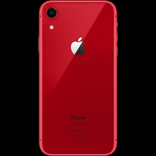 Apple iPhone XR Rot Hinten