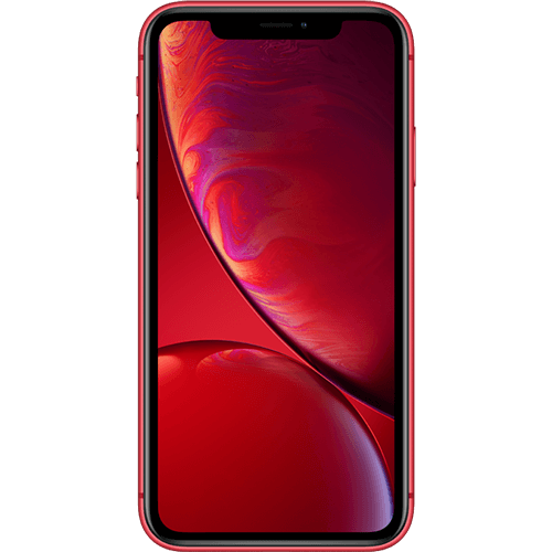 Apple iPhone XR Rot Vorne
