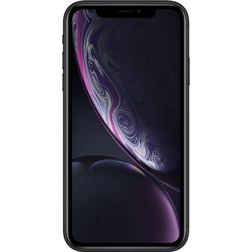 Apple iPhone XR Schwarz Vorne