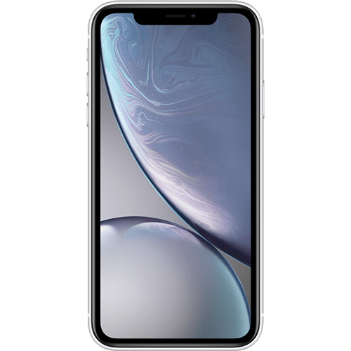 Apple iPhone XR Weiss Vorne
