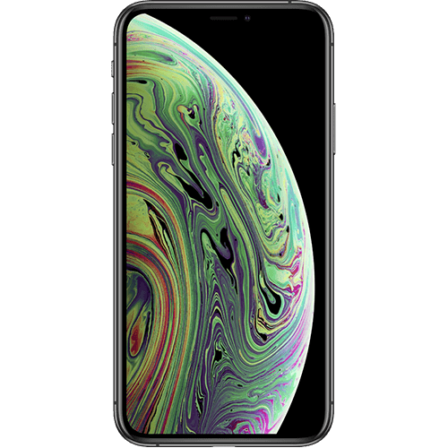Apple iPhone XS Spacegrau Vorne