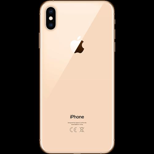 Apple iPhone XS Max Gold Hinten