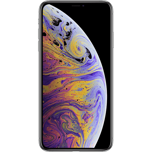 Apple iPhone XS Max Silber Vorne
