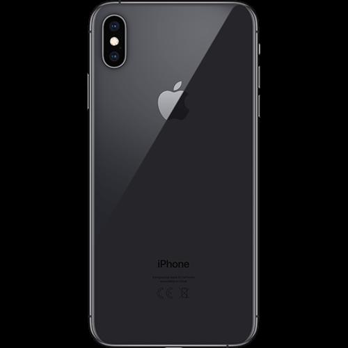 Apple iPhone XS Max Spacegrau Hinten