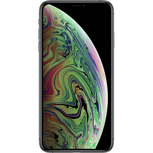 Apple iPhone XS Max Spacegrau Vorne