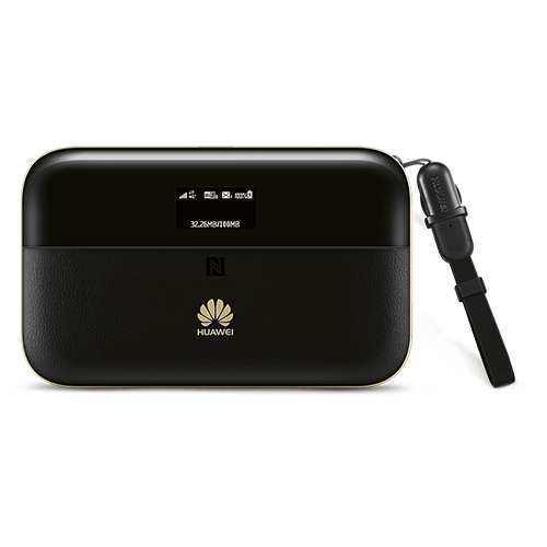 HUAWEI E5885 Mobile WiFi Pro2 Schwarz Vorne