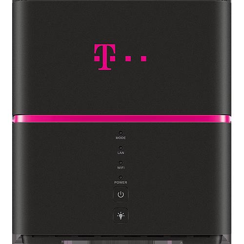 Telekom Speedbox Schwarz Vorne