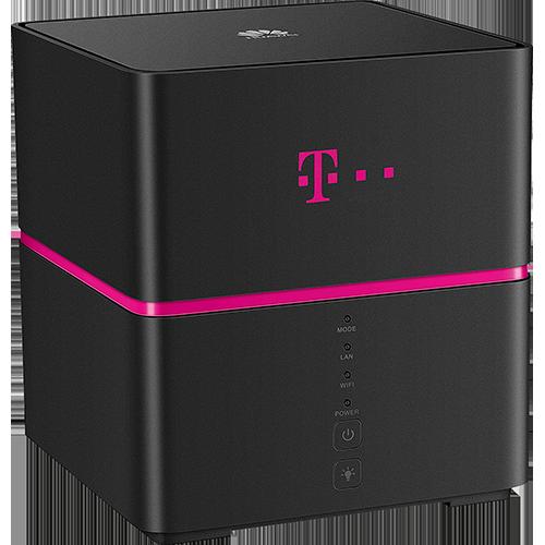Telekom Speedbox Schwarz Hinten