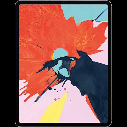 Apple 12,9'' iPad Pro (3. Generation) WiFi und Cellular Spacegrau Vorne