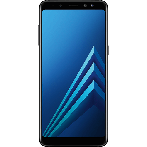 Samsung Galaxy A8 Enterprise Edition Schwarz Vorne