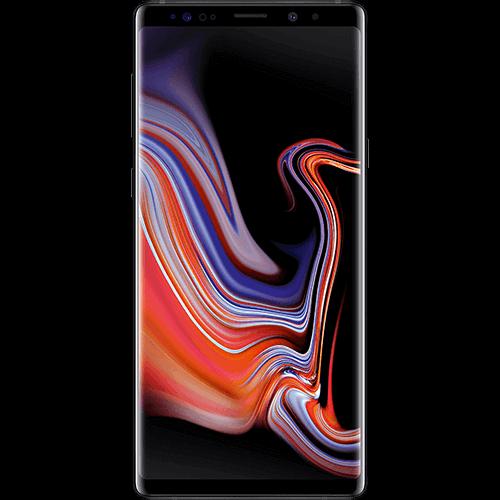 Samsung Galaxy Note9 Schwarz Vorne