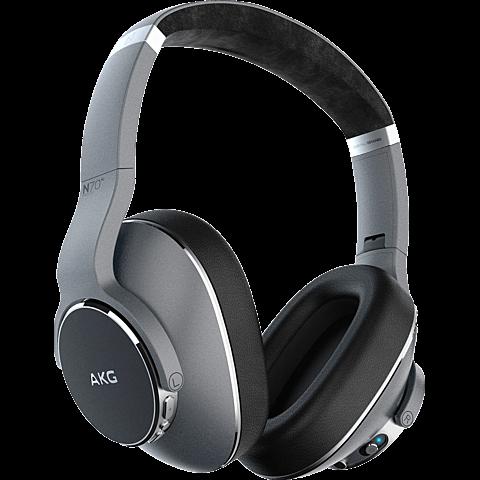 AKG N700NC Wireless Over-Ear Bluetooth-Kopfhörer - Silber 99929443 vorne