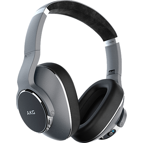 AKG N700NC Wireless Over-Ear Bluetooth-Kopfhörer - Silber 99929443 hero