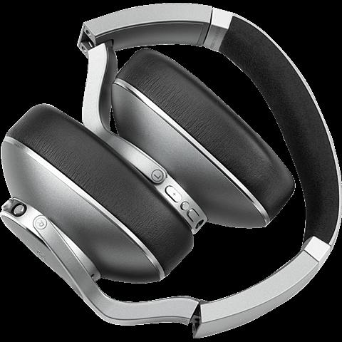 AKG N700NC Wireless Over-Ear Bluetooth-Kopfhörer - Silber 99929443 hinten
