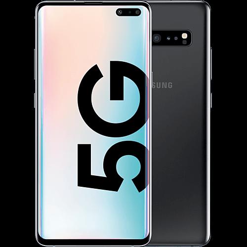Samsung Galaxy S10 5G Majestic Black Vorne und Hinten