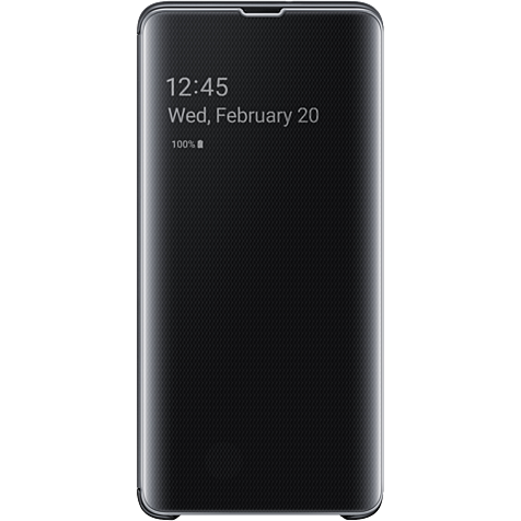 Samsung Clear View Cover Galaxy S10 5G - Schwarz 99929452 hero