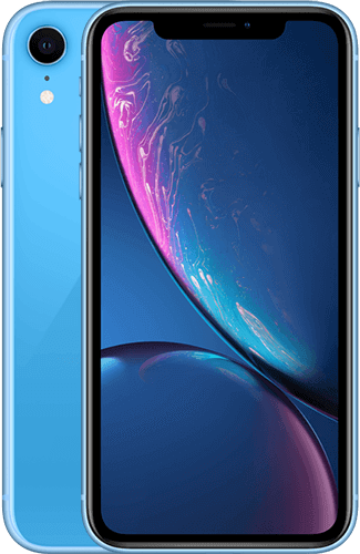 iPhone XR Blau mit StreamOn Social