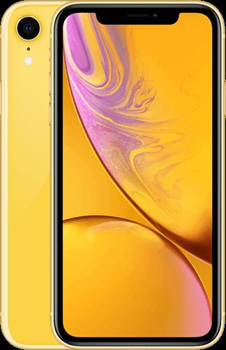iPhone XR Gelb mit StreamOn Social