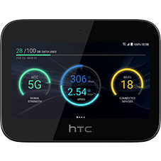 HTC 5G HUB Schwarz Katalog