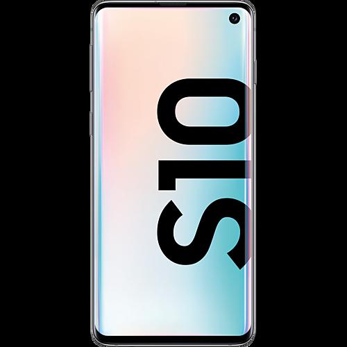 Samsung Galaxy S10 Prism White Vorne