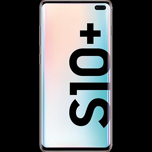 Samsung Galaxy S10+ Ceramic White Vorne