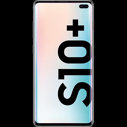 Samsung Galaxy S10+ Prism White Vorne