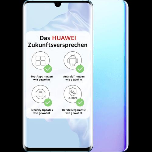 HUAWEI P30 Pro Breathing Crystal Vorne und Hinten