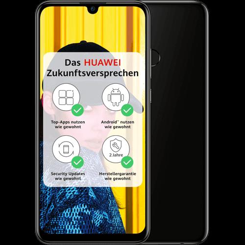 HUAWEI P smart 2019 Schwarz Vorne und Hinten