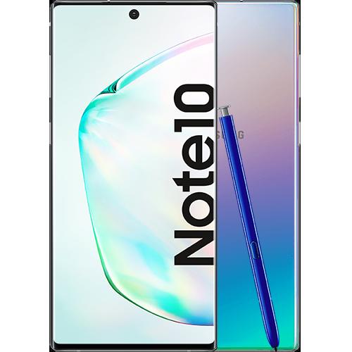 Samsung Galaxy Note10 Aura Glow Vorne und Hinten