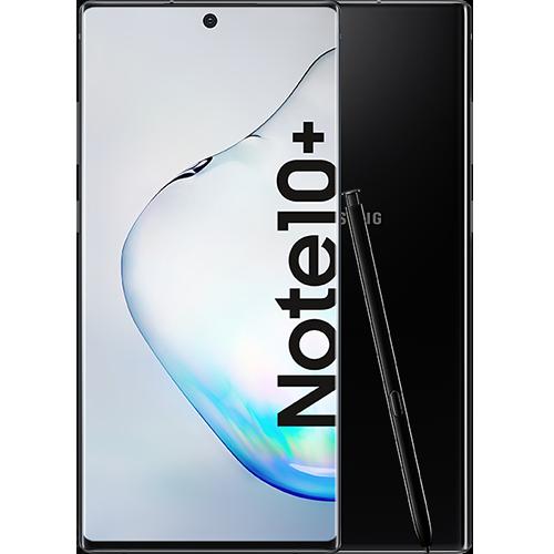 Samsung Galaxy Note10+ Aura Black Vorne und Hinten