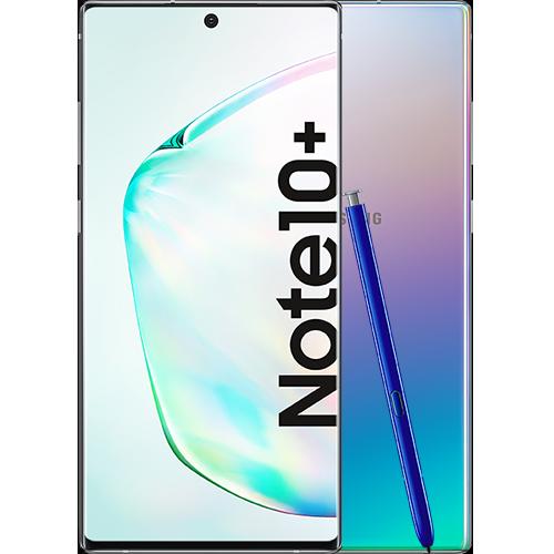 Samsung Galaxy Note10+ Aura Glow Vorne und Hinten