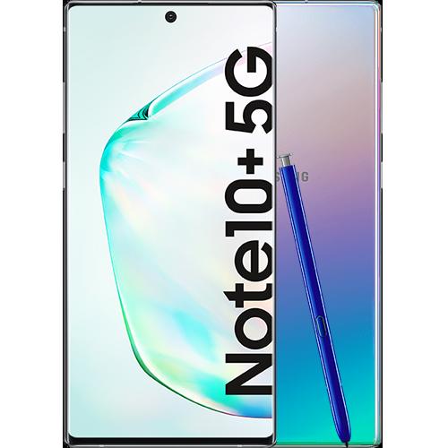 Samsung Galaxy Note10+ 5G Aura Glow Vorne und Hinten