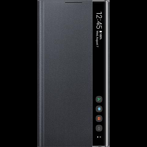 Samsung Clear View Cover Galaxy Note 10 Schwarz 99929634 vorne