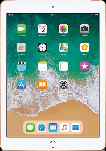Apple iPad (6. Generation) WiFi und Cellular Gold
