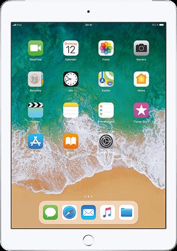 Apple iPad (6. Generation) WiFi und Cellular Silber