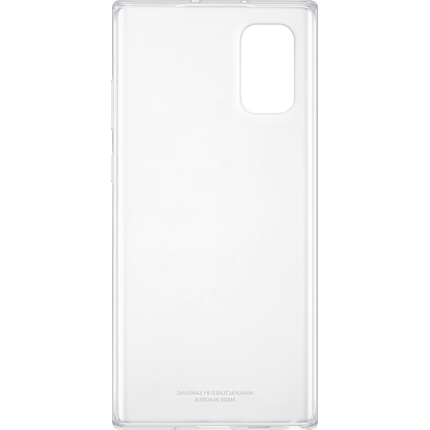 Samsung Clear Cover Galaxy Note10+ Transparent 99929638 hinten